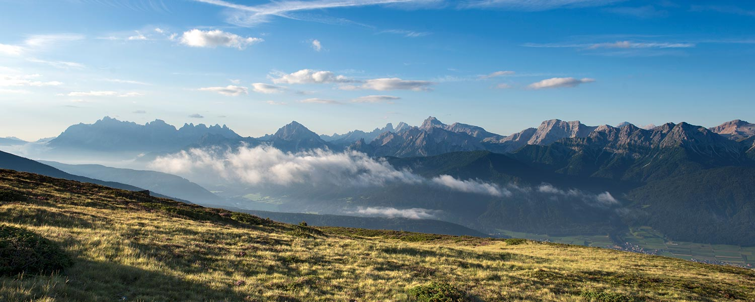 Excursions to Gais - hiking in Val Pusteria Pustertal