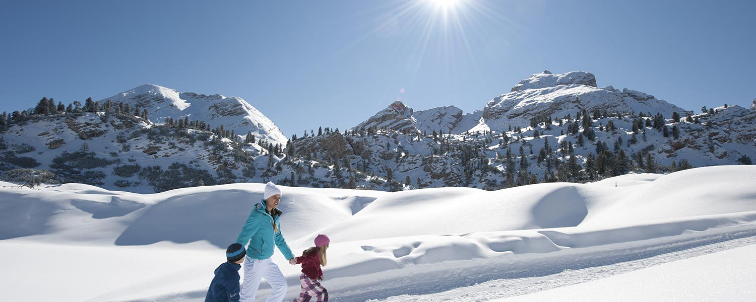 Winter holidays - snowshoeing & Co.